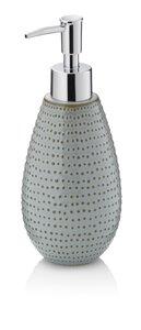 3552556-00000 Seifenspender Dots graubraun