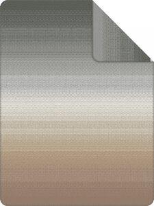 3557386-00000 Decke Benin Jacquard grau/beig