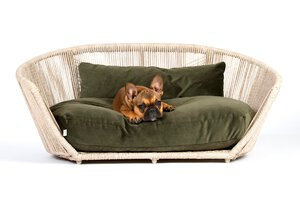 3567568-00000 Hundesofa Vogue Oxford Olive