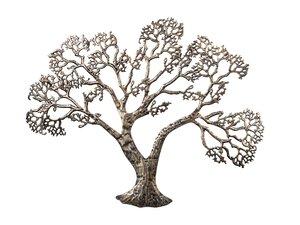 3324969-00000 Wanddekor Tree Met antiksilber