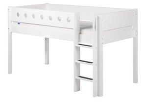 48 Flexa White Spielbett gerade Leiter M024128-00000