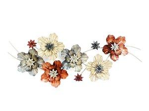 3325033-00000 Wanddekor Flower Met H49B125T