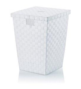 3317129-00000 Wäschebox ALVARO weiß