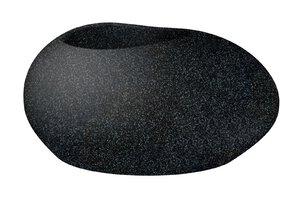 3347516-00000 Pflanzgefäß Flow Stony Black