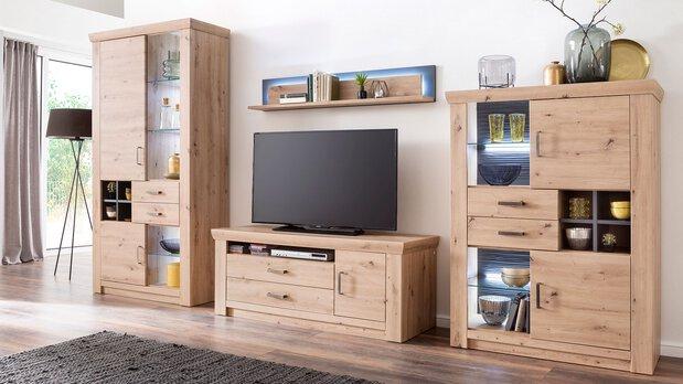 Wohnzimmer Wohnwand Meran MCA furniture