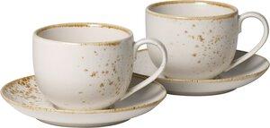 3263914-00000 Kaffeetassen Set 4 tlg.Stone W