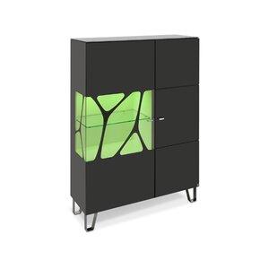 40 10 Cube Highboard schwarz Genetics 1GT 110x145