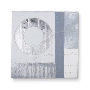 3133003-00000 Original Abstrakt Ölfarbe grau