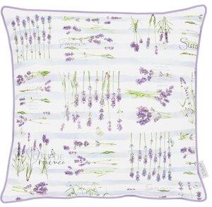 3571547-00000 Kissen gef.48x48cm Lavendel
