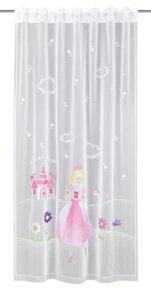 3235590-00000 Dekoschal Prinzessin pink