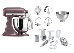 3148892-00000 Küchenmaschine med.-silber+Set