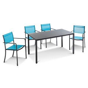 3588304-00000 Tischgruppe blau 5tlg