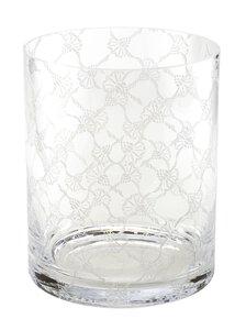 3566615-00000 Vase rund Kristallglas 22x18 c
