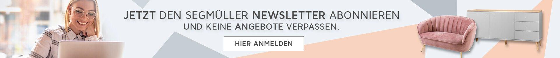 SEGMÜLLER - Newsletter Anmeldung