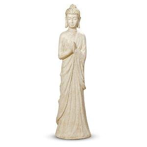 3219581-00000 Buddha Orell H103cm creme Kuns