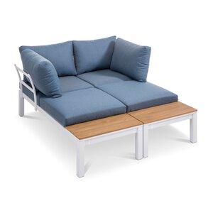 3477624-00000 2-Sitzer Set weiß
