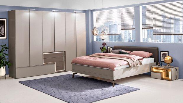 Schlafzimmer-Serie Tetrim von hülsta