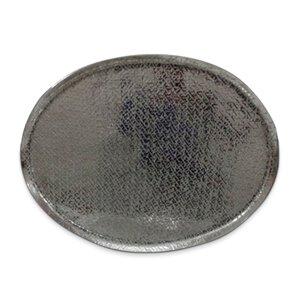 3246097-00000 Dekotablett oval Aluminium