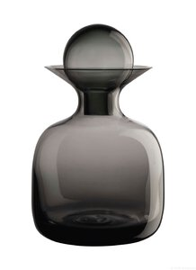 3466732-00000 Karaffe Glas small grey 0,75 l
