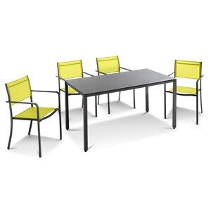3588306-00000 Tischgruppe grün 5tlg