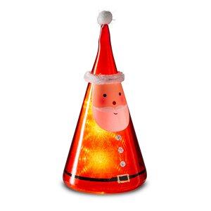 3545096-00000 Nikolaus beleuchtet rot/weiß