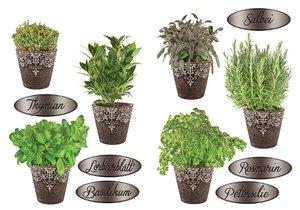 3308615-00000 Stickers KücheKräuter