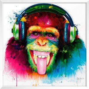 3327552-00000 Murciano,DJ Monkey 30x30 cm