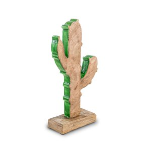 3472197-00000 Kaktus Mangoholz/dunkelgrün