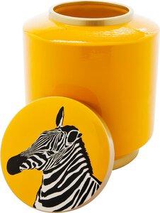 3270750-00000 Gefäß Zebra Gelb 25cm