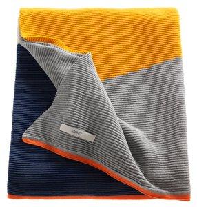 3579430-00000 Plaid Esprit Zac blau/gelb