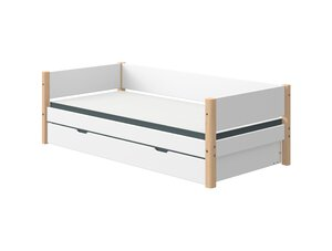 48 Flexa White Einzelbett mit Ausziehbett M021217-00000