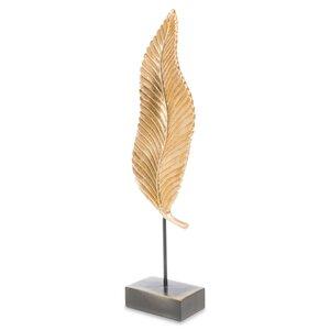 3364640-00000 Flügel auf Fuss goldfarben