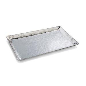 2990292-00000 Tablett eckig Edelstahl silber