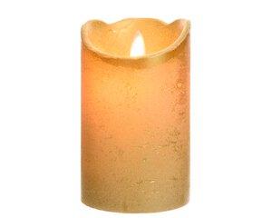 3547512-00000 Kerze mit Timer gold