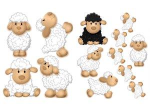 3308595-00000 Stickers KinderSüße Schafe