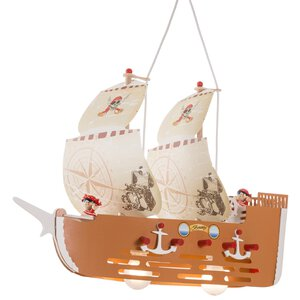 "2950556-00000 Pendelleuchte ""Piratenschiff"""