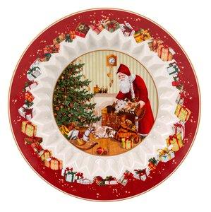3604151-00000 Schale Santa bringt Geschenke
