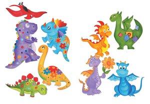 3308558-00000 Stickers KinderDinosaurier