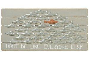 3224492-00000 Wanddeko Fisch Goldie L79 cm