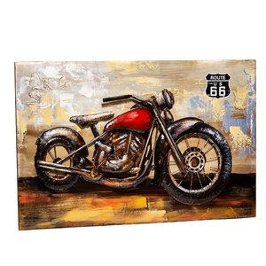 3324968-00000 3D-Wandd Motorrad Met H80B120