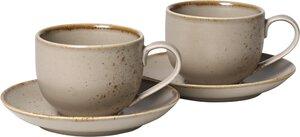 3263898-00000 Kaffeetassen Set 4 tlg.Stone W