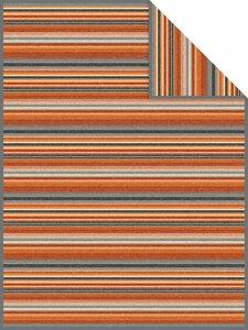 3557385-00000 Decke Tijuana Jacquard grau/br