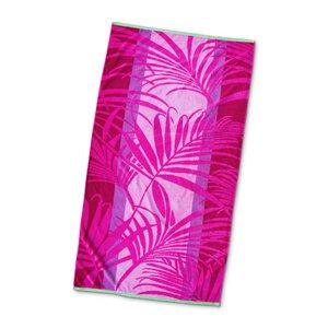 "3462625-00000 Strandtuch ""Palme"" pink"