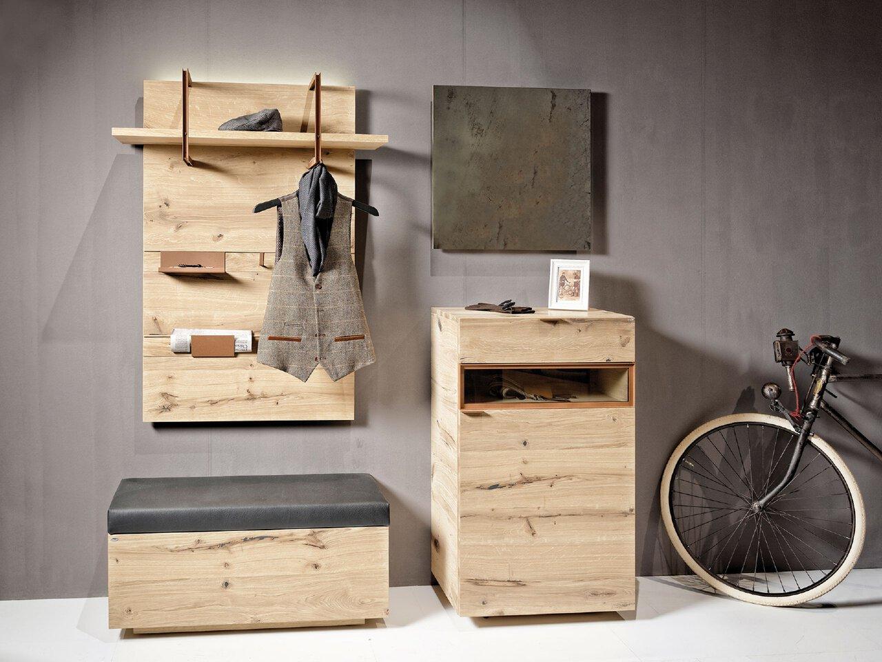 Garderobe Voglauer Serie V-Cube