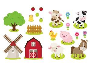 3308557-00000 Stickers KinderBauernhof