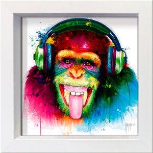 3327512-00000 Murciano,DJ Monkey 16x16 cm