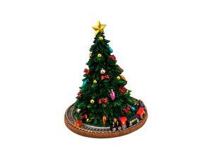 """3051603-00000 Spieluhr """"Weihnachtsbaum Zug"""""""