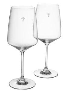 3562317-00000 Rotweinglas weiß 2er-Set matt