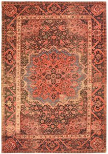 46- Funky Orient Ghom red 200 M028037-00000