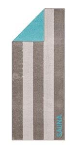 3084832-00000 Saunatuch graphit/türkis